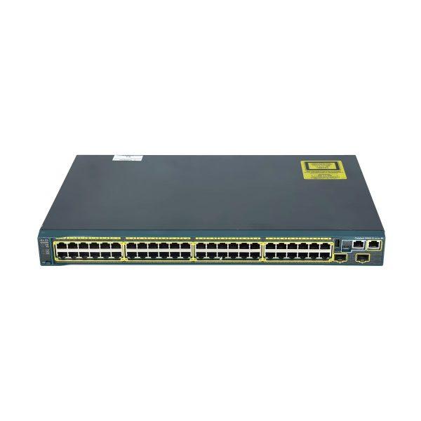 سوییچ شبکه مدیریتی سیسکو 48 پورت مدل Catalyst 2960S-48TS-S