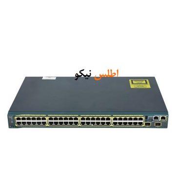 Cisco sw 2960S 48TS S 91 400x400 - سوئیچ شبکه مدیریتی سیسکو 48 پورت مدل Catalyst 2960S-48TS-S