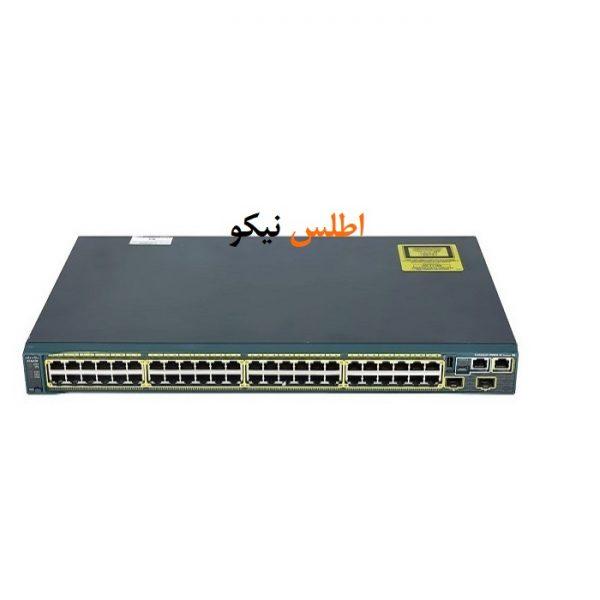 Cisco sw 2960S 48TS S 91 600x600 - سوئیچ شبکه مدیریتی سیسکو 48 پورت مدل Catalyst 2960S-48TS-S