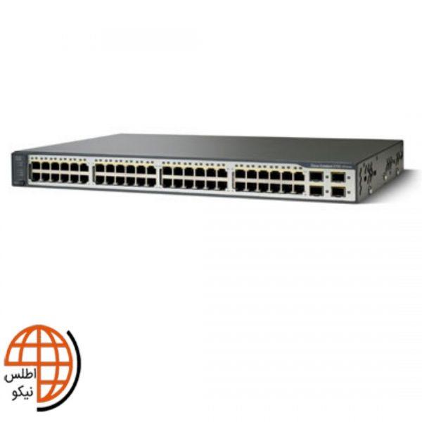 سوئیچ سیسکو WS-C3750V2-48PS-S