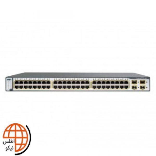 سوئیچ سیسکو WS-C3750-48P-AP50