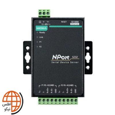 مبدل سریال به اترنت موگزا NPort 5232