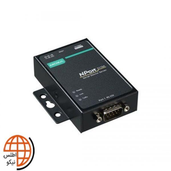 مبدل سریال به اترنت صنعتی موگزا NPort 5110A